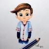 ♥️ Artist boy????️ - aryanverma_001