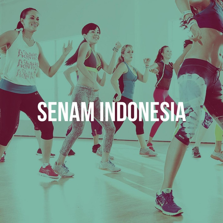 Senam Musik Indonesia (Dengan Aba-aba)
